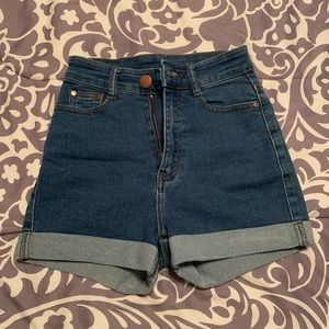 Fashion Nova Carter Denim Shorts